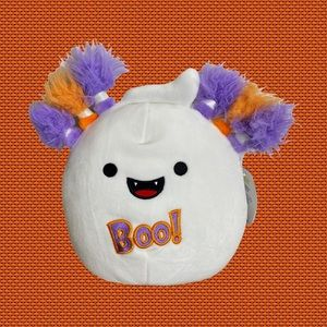 """Grace the Ghost Halloween 8"""" Squishmallow NEW"""